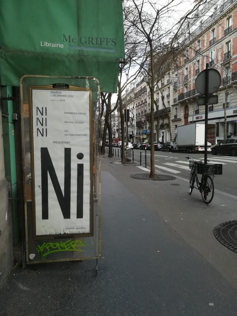 Rue Caulaincourt, Paris, janvier 2020.